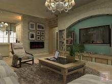 Фото дизайна интерьера дома площадью 120 м.кв. в пос.Ключевой, г.Новочеркасск