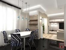 Фото дизайн-проекта интерьера трехкомнатной квартиры на ул.Кирова, г.Батайск