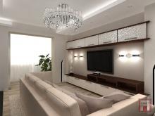 Фото дизайна интерьера гостиной в Батайске