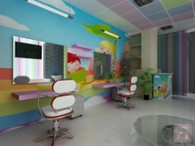 Фото интерьера детского салона красоты