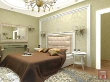 Фото варианта интерьера спальни