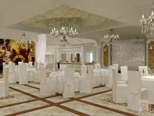 Фото дизайн-проекта интерьера банкетного зала ресторана